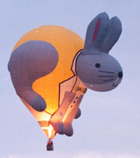Rabbit balloon