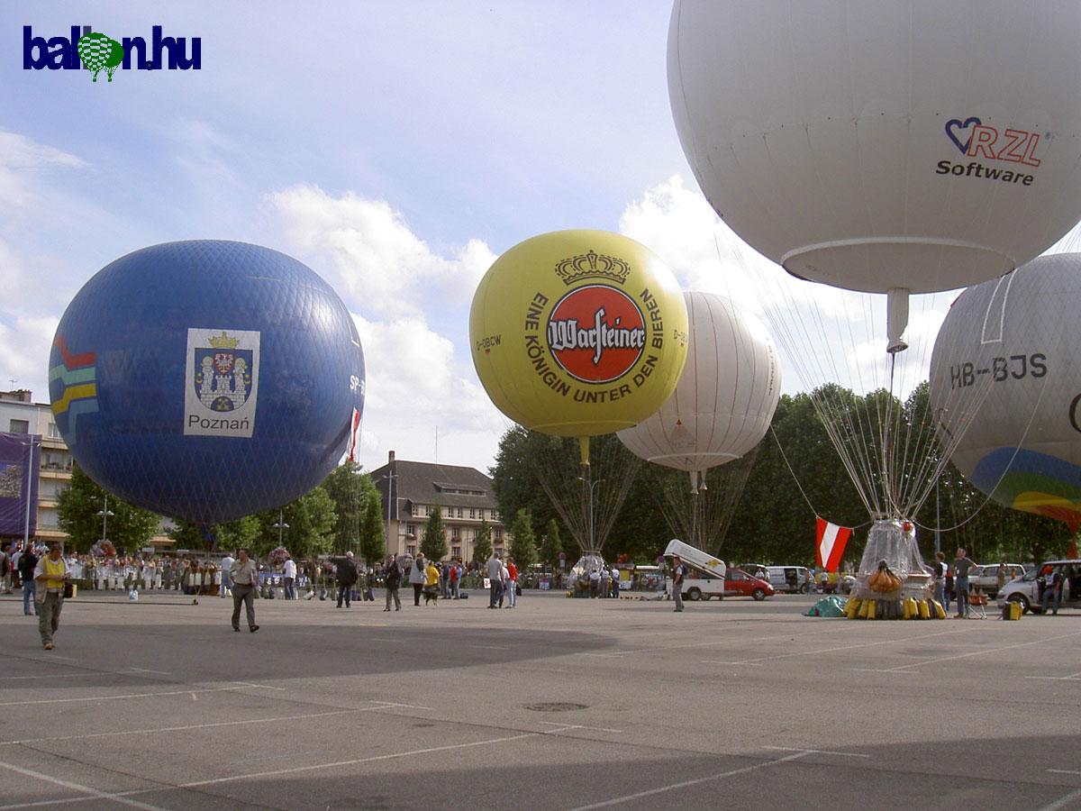 Gas balloon | balloon.
