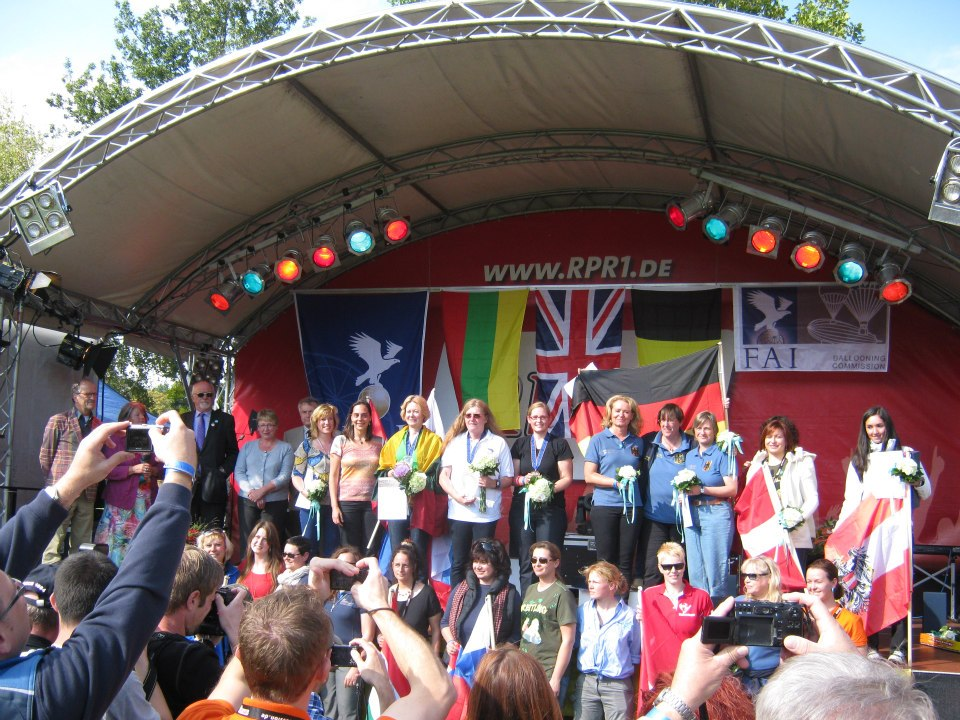 Results of 2nd FAI Women European Hot Air Balloon Championship