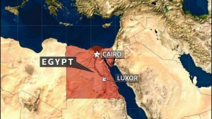 The crash occurred in Luxor, Egypt
