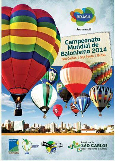 21st World Hot Air Balloon Championship 2014 Sao Carlos Brasil