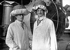 Auguste Piccard and Paul Kipfer