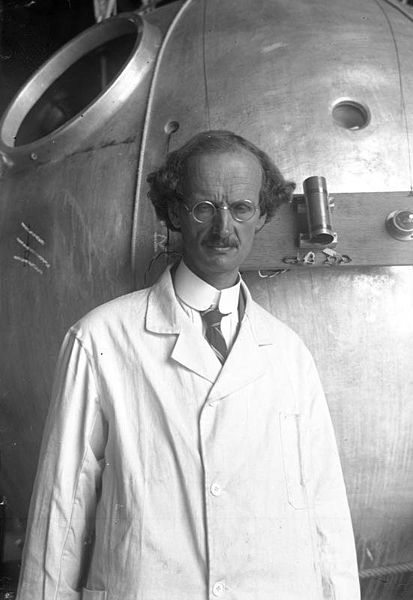 Auguste Piccard in 1932