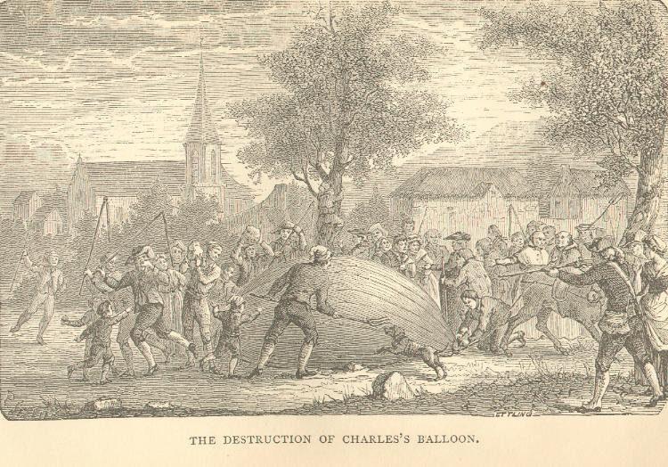 The Destruction of Charles's Balloon