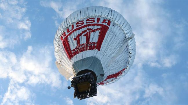 Fedor Konyukhov's balloon