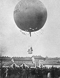 Turul - the first Hungarian balloon